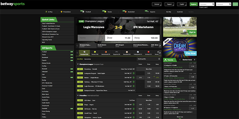 ty le betway