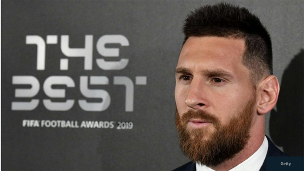 messi at the best